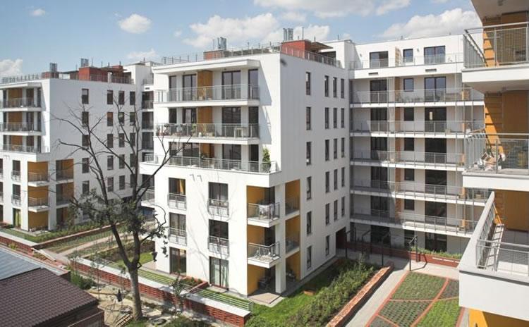 """Apartamentowiec """"Wiatraczna Residence"""" Warszawa"""